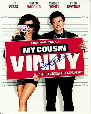 JOE PESCI hand-signed MY COUSIN VINNY 8x10 authentic w coa MARISA TOMEI POSTER