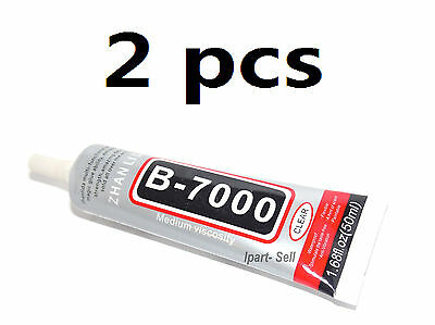 2pcs New 50ML Multi-Purpose Glue Adhesive B-7000 For Mobile Phone USA FAST SHIP