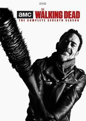 The Walking Dead Season 7 DVD 2017 5-Disc Set Factory Sealed New Free shipping
