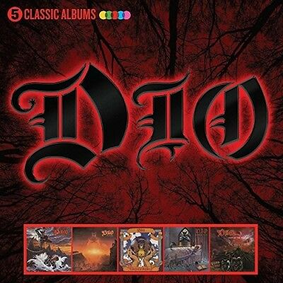 Dio - 5 Classic Albums New CD Boxed Set UK - Import