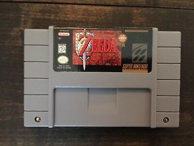 The Legend of Zelda A Link to the Past SNES Repro Cartridge