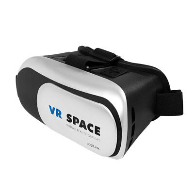 """3D Brille VR Virtual Reality 4-6"""" Display Iphone Android Smartphone Handy IOS"""