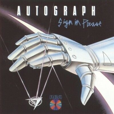 Autograph - Sign in Please New CD 24 Bit Remastered Collectors Ed