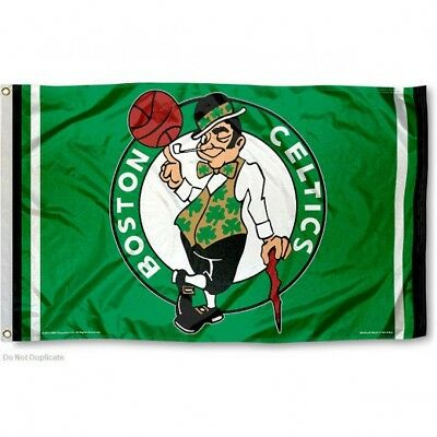 BOSTON CELTICS FLAG 3X5 NBA LOGO BANNER FAST FREE SHIPPING