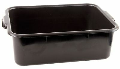 Crestware 22-12 x 15-34 x 7 Polypropylene Bus Tub Black - BT7BK