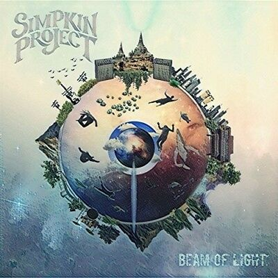 The Simpkin Project - Beam Of Light New Vinyl LP Blue Colored Vinyl