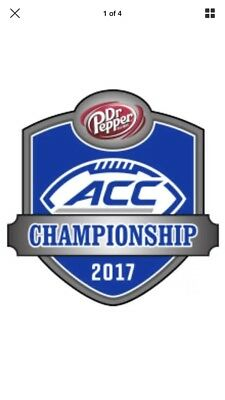 2 ACC Football Championship Tickets Miami vs Clemson-Up To 4 Club Level 342-347