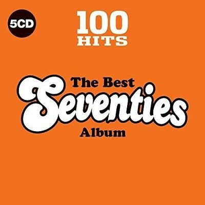 Various Artists - 100 Hits The Best 70s  Various New CD Boxed Set UK - Impo
