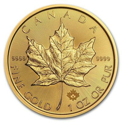 2018 Canada 1 oz Gold Maple Leaf Coin BU - SKU 158647