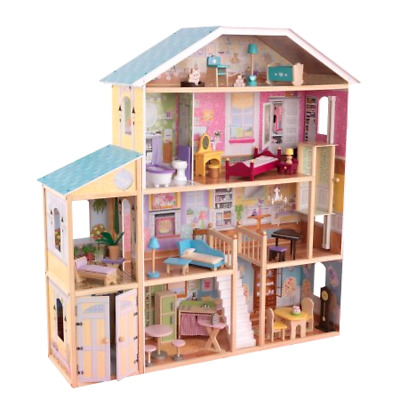 KidKraft Majestic Mansion Dollhouse with 34 Accessories