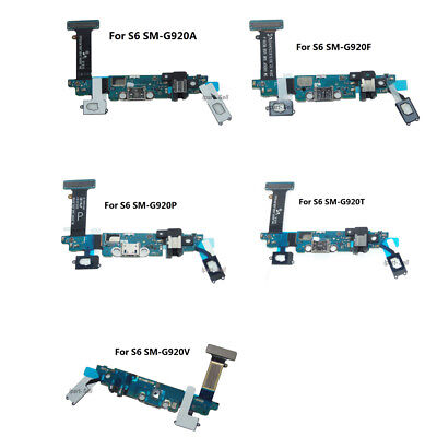 OEM Charger Charging Port Dock Mic Flex Cable Replacement For Samsung Galaxy S6