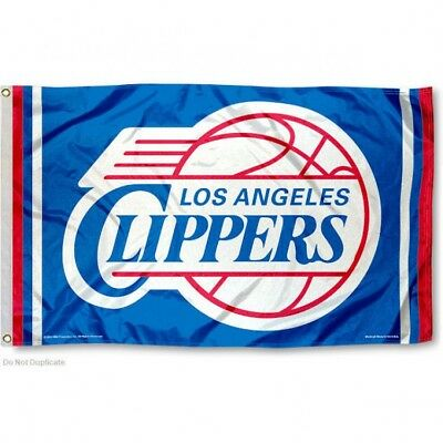 LOS ANGELES CLIPPERS FLAG 3X5 NBA L-A- CLIPPERS BANNER FAST FREE SHIPPING
