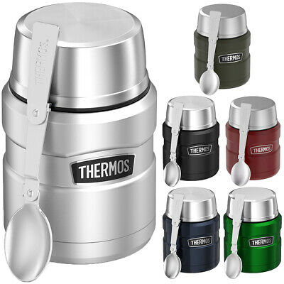 Thermos 16 oz- Stainless King Vacuum Insulated Stainless Steel Food Jar