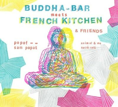 Various Artists - Buddha Bar Meets French Kitchen  Various New CD France - Im