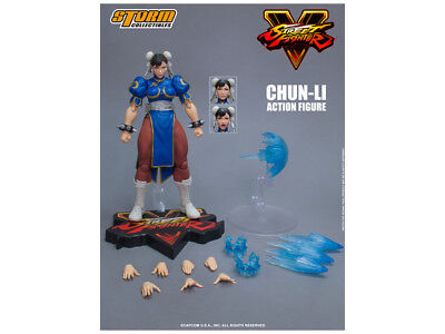 Storm Collectibles Street Fighter V Chun-Li 112 Scale Action Figure USA Seller