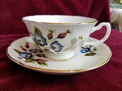 Royal Grafton Cup - Saucer Bone China - Morning Glories