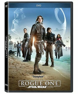 Rogue One A Star Wars Story DVD Sealed New Free shipping