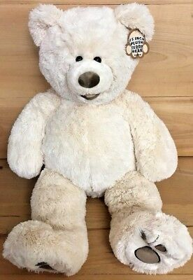 Large Soft 25 Inch Plush Teddy Bear - Tan - Gift for Valentines day