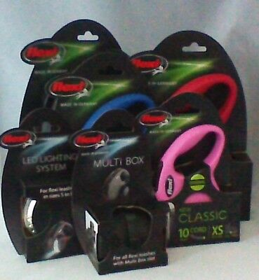 Flexi Leashes XS-S-M
