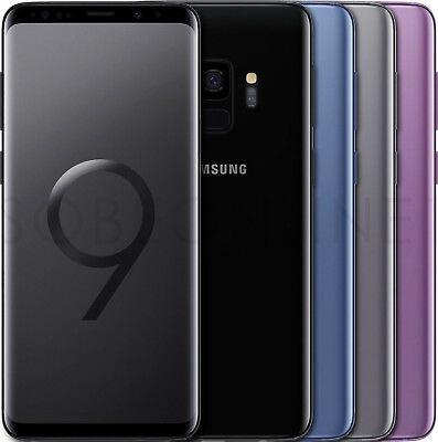 Samsung Galaxy S9 SM-G960FDS 64GB DUAL SIM Factory Unlocked Pick Your Color