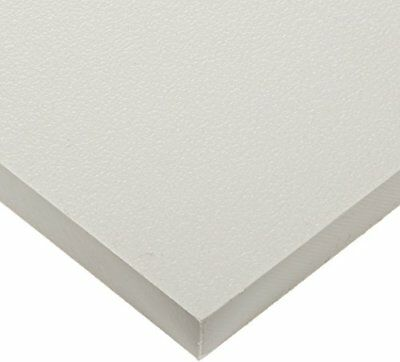 White Marine Board HDPE Polyethylene Plastic Sheet 12 - 0-500 Thick Textured