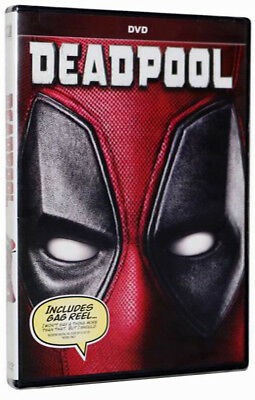Deadpool DVD 2016 New - Sealed - Gage Reels FREE Shipping