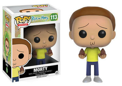 Funko Pop Animation Rick and Morty - Morty Vinyl Figure