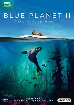 BLUE PLANET II 2 DVD 2018 Free Fast Shipping US Seller