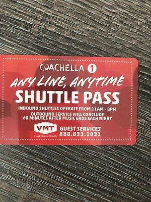 Coachella Weekend 1 Shuttle Pass