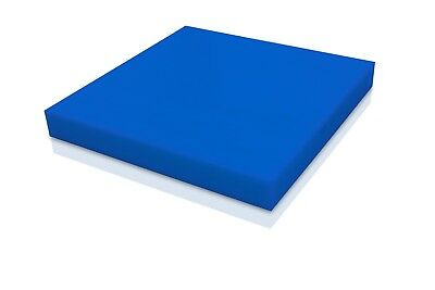 Delrin - Acetal Plastic Sheet 12 - 0-500 Thick - Blue Color You Pick The Size