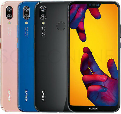 NEW Huawei P20 Lite 32GB4GB DualSim FACTORY UNLOCKED 5-8 Black Blue Pink