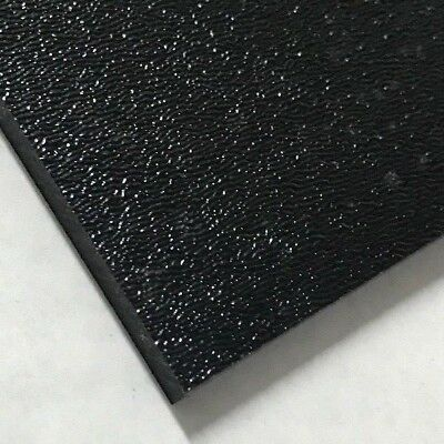 ABS Black Plastic Sheet 0-236 - 14 You Pick The Size Vacuum Forming