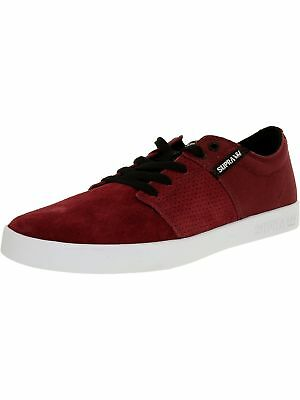 Supra Mens Stacks Ii Ankle-High Suede Fashion Sneaker