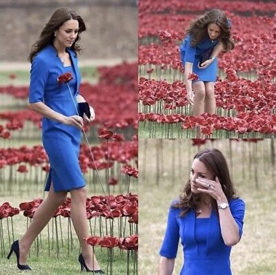 LK Bennett Detroit Dress Size 8 As Worn By Kate Middleton
