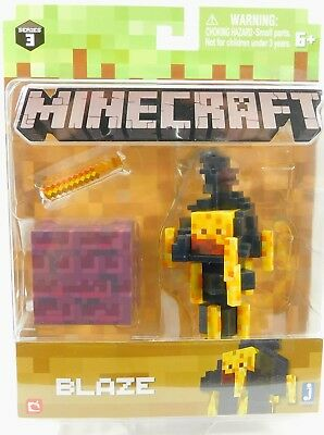 Minecraft Blaze Series 3 Collectible Figure New in Mint Box Toy
