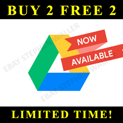 Google Drive Unlimited added to your Google Account Lifetime PROMOTION - BIZ ACC