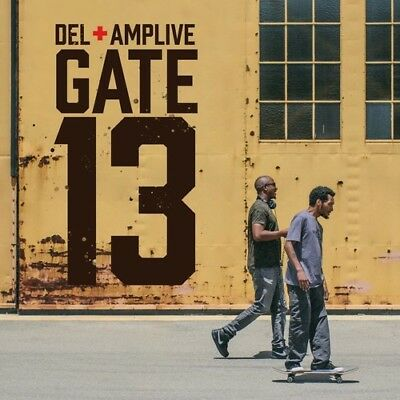 Del The Funky Homosapien - Amp Live - Gate 13 New Vinyl