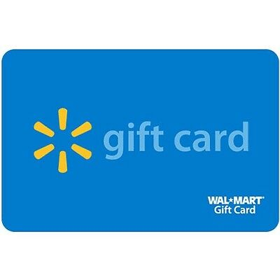 100 Walmart Gift Card For use Online andor in StoreSame Day Shipping