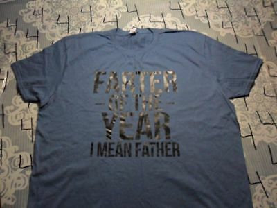 XL- NWOT Farter Of The Year Fathers Day Spoof T- Shirt