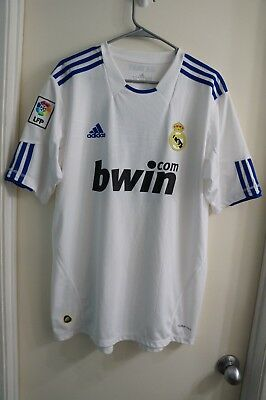 REAL MADRID Mens Climacool Jersey - Authentic ADIDAS Size XL