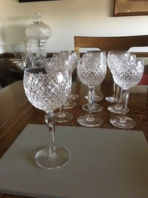 Waterford Crystal ALANA HOCK WINE Glass - excellent