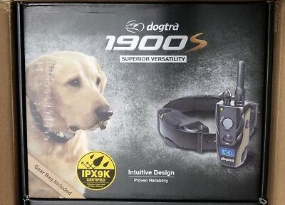 Dogtra 1900S Remote Dog Training Collar 34 mile W Gear Bag
