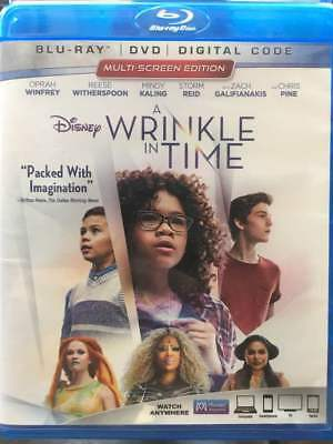 A Wrinkle in Time Blu-Ray No DVDDigitalSlip Like New FASTFREE Combine Shipping