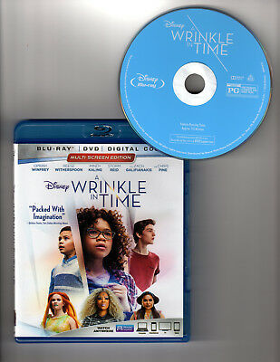 A Wrinkle in Time Blu-ray 1 Disc 2018