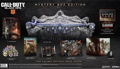 Call Of Duty Black Ops 4 Collectors Box Edition
