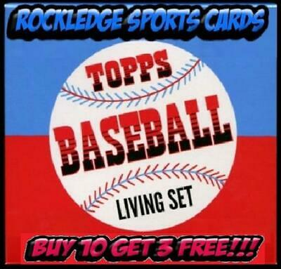 2018 TOPPS LIVING SET SINGLES 1-138 PICK YOUR CARDS BUY 10 GET 3 FREE