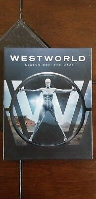 Westworld The Complete First Season Blu-ray Disc 2017 PERFECT CONDITION