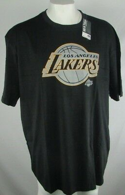 Los Angeles Lakers Mens Majestic Big and Tall Black Short Sleeve Tee NBA
