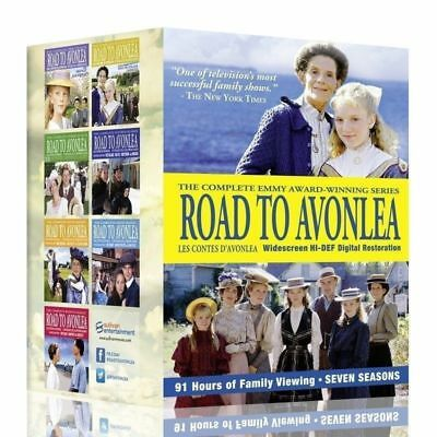 Road To Avonlea The Complete Series DVD Seasons 1-7 Box Set
