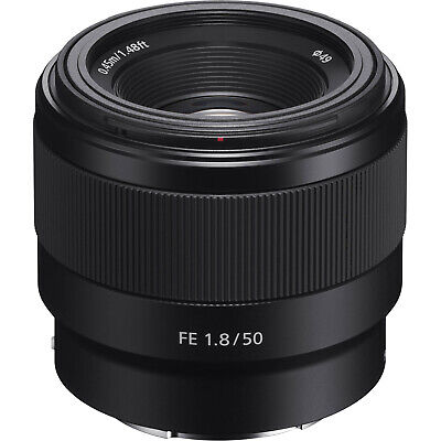 Sony Alpha E-Mount FE 50mm f1-8 F1-8 Prime Lens